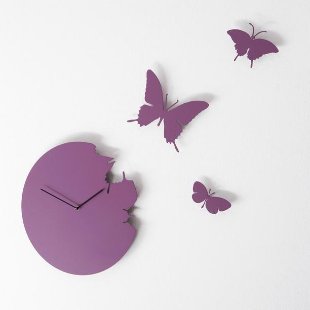 c01c2235b Fly Away Butterfly Clock