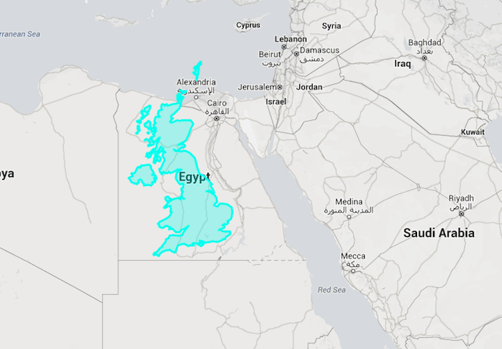 "Eye-Opening ""True Size Map"" Shows the Real Size of Countries on a ..."