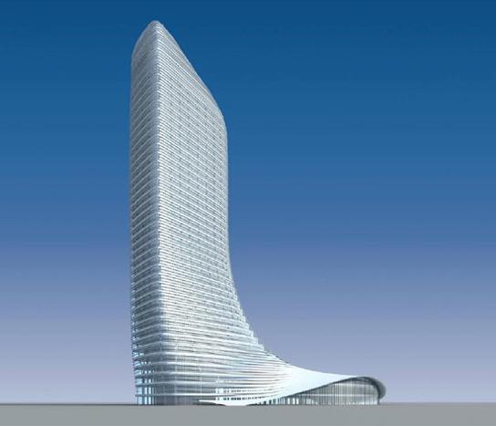 modern architecture china s cowboy boot