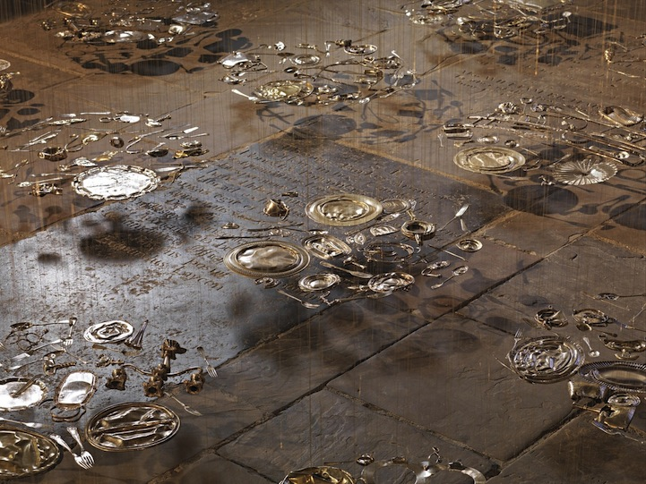 Image result for cornelia Parker - Thirty pieces of silver