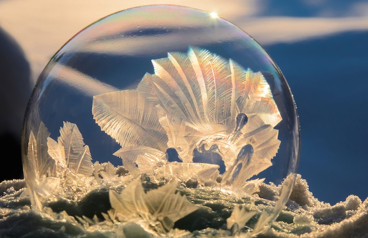 Image result for frozen bubbles