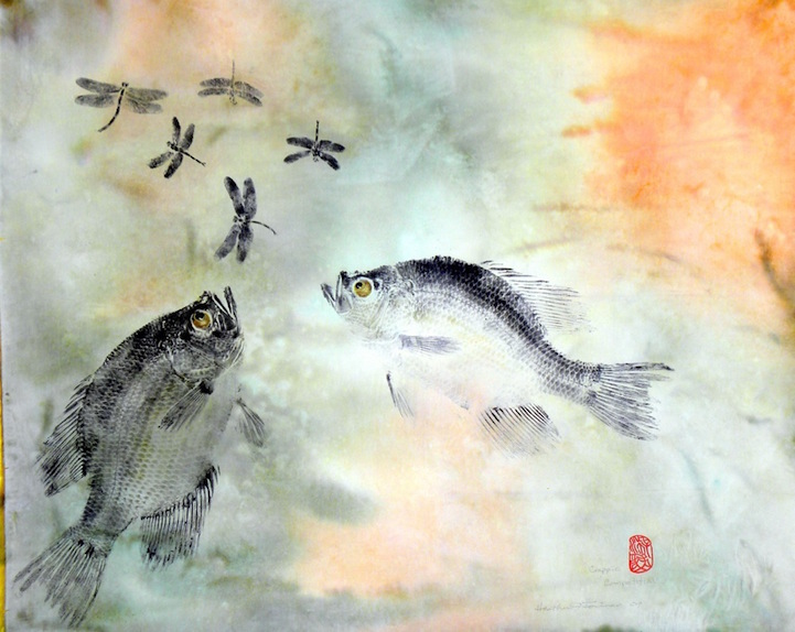 Gyotaku: The Traditional Japanese Art of Painting Marine