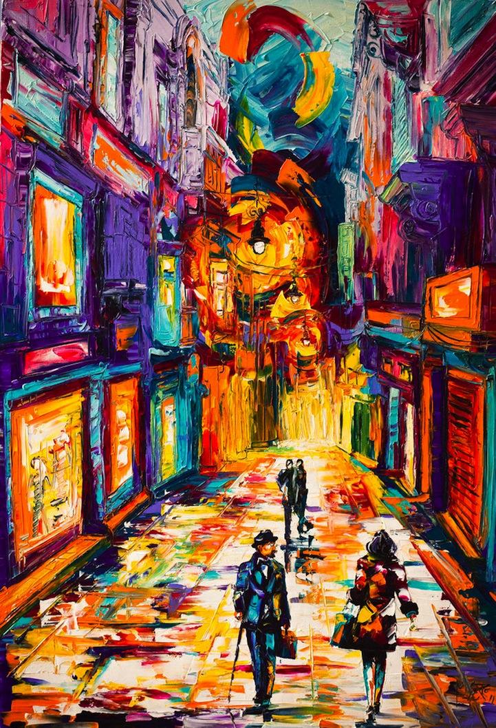 What Is Impasto Acrylic Painting