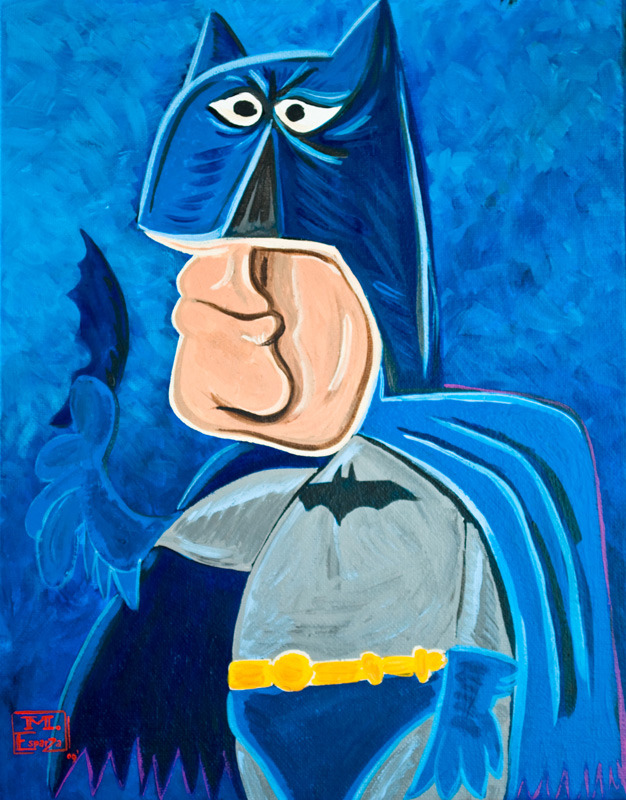 Picasso Style Superheroes
