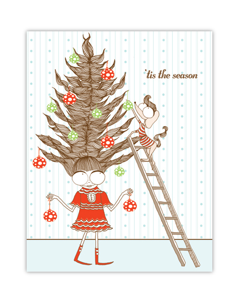 top 10 vintage modern christmas cards that i am in love with