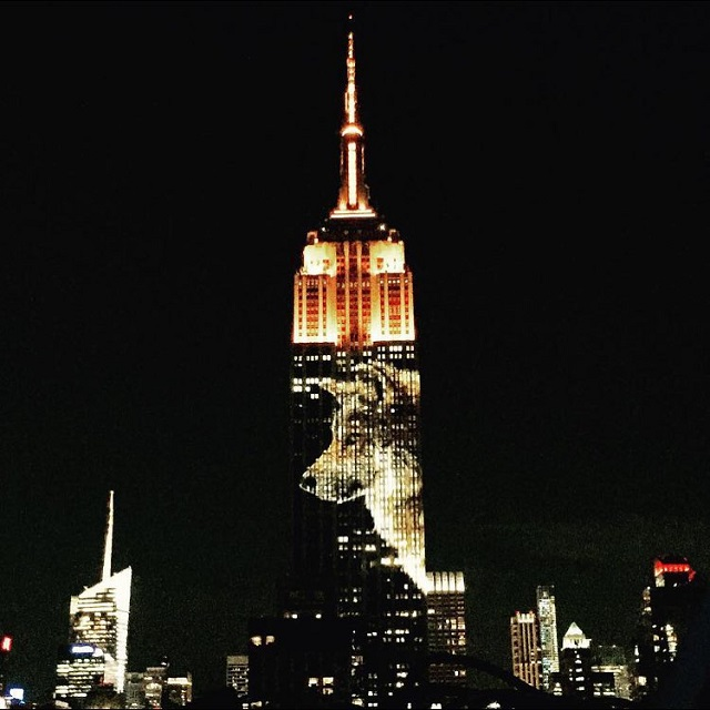 Empire State Building Shows Endangered Animals