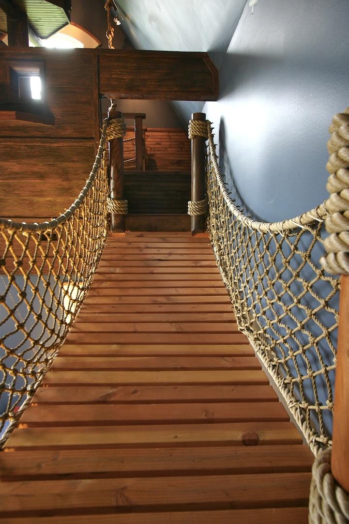 Steve Kuhl Pirate Ship Bedroom Interior Design Fantasy Room. U201c