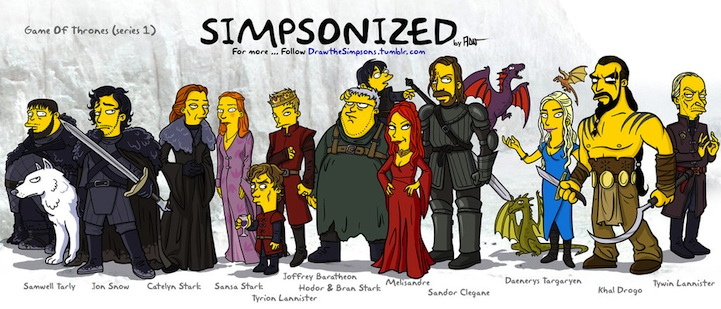20 Fantastic and Funny Examples of Game of Thrones Fan Art