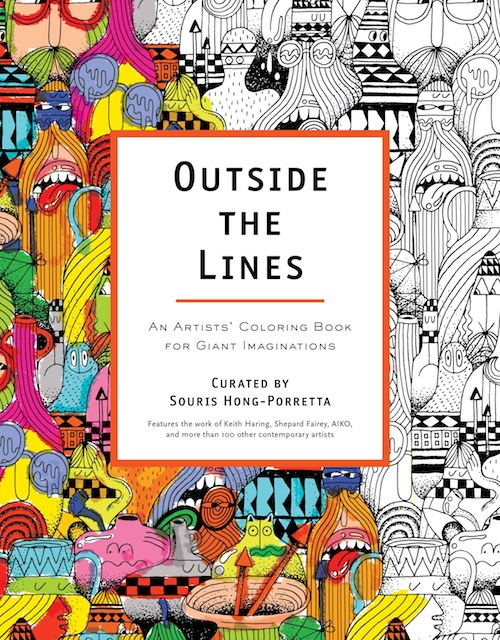 New Coloring Book For Contemporary Art Lovers