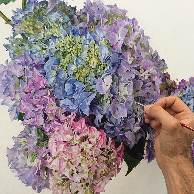 Artist S Meticulously Detailed Paintings Play With