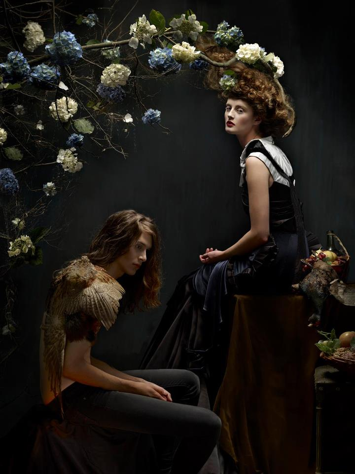 Stunning baroque painting inspired photography for Modern baroque art