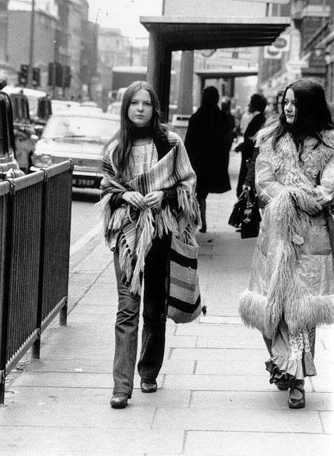 Vintage 1960s Fashion Photos Hippie Bohemian 1970s Street Photography
