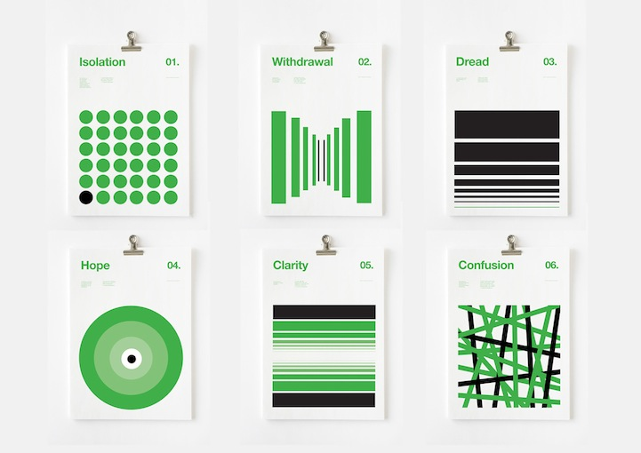 Minimalist Poster Series Depicts the Serious Symptoms of ...