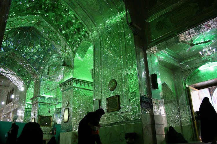 Mosque In Shiraz Is Treasured Pilgrimage Monument