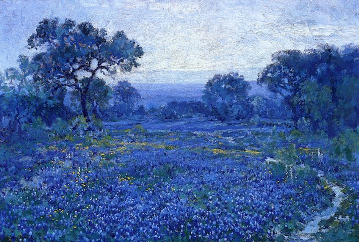 Breathtaking Impressionist Paintings of Bluebonnets by Julian ...