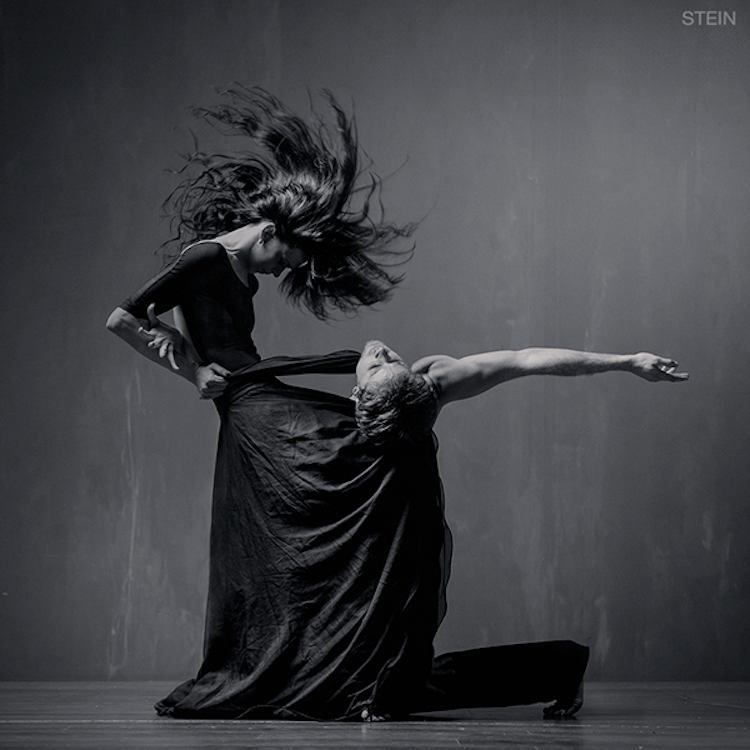 Powerful Black And White Portrait Of Emotive Dancers