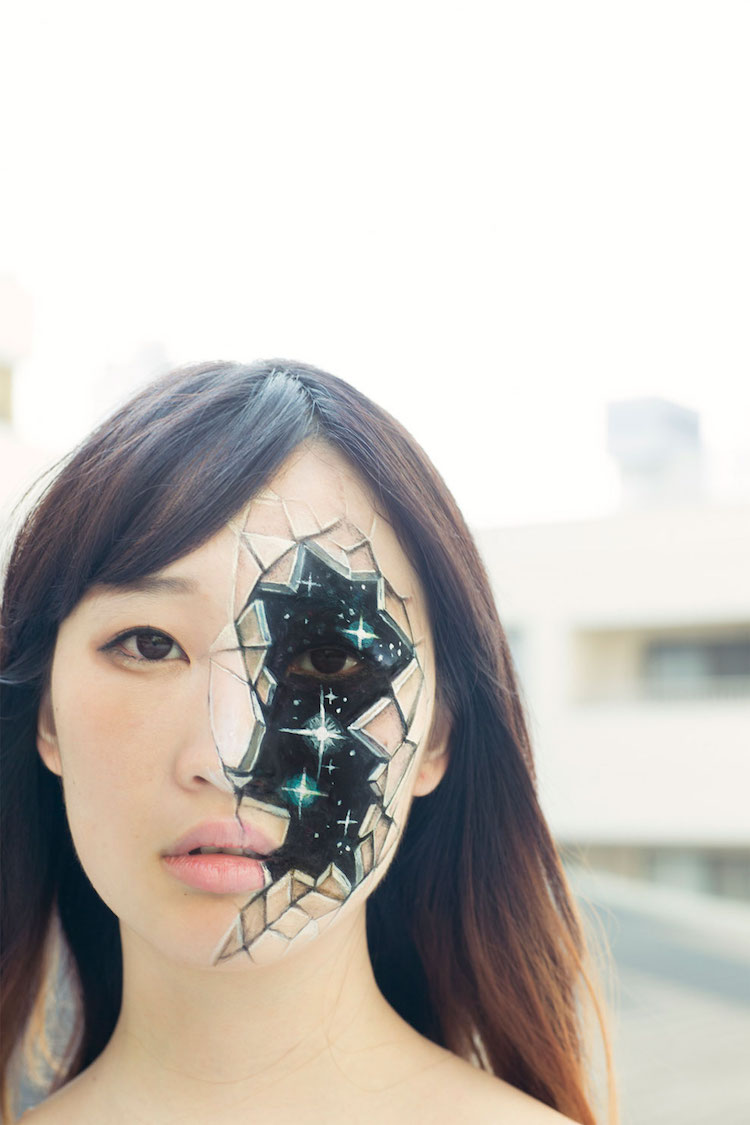 Japanese Artist Uses Acrylic Paint To Transform Ordinary People