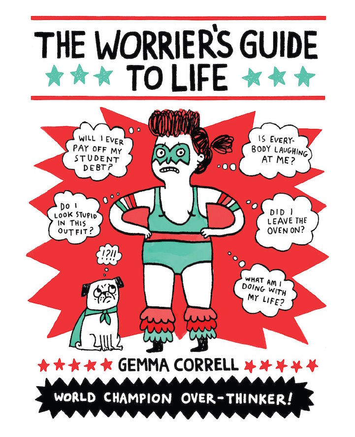 Travelling With Panic Disorder: Humorously Relatable Illustrations Display The Reality Of
