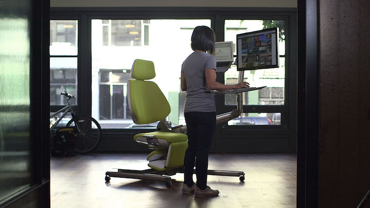 futuristic office chair. Altwork Is Currently Taking Pre-orders For Their Cozy Workstation. Early Adopters Get A Significant Amount Off The $5,900 Price Tag, Paying $3,900 Before Futuristic Office Chair