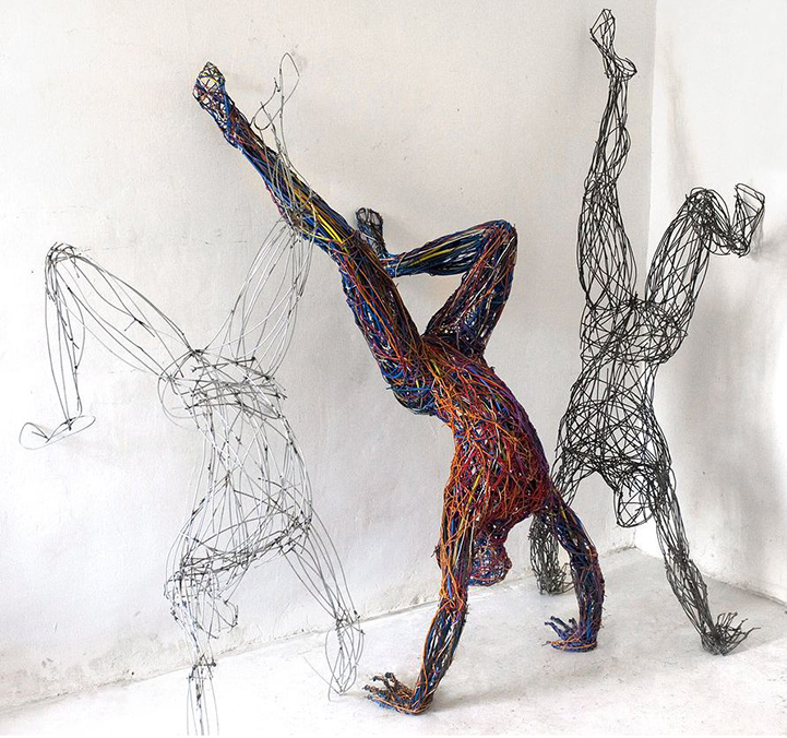 Colored Wire Figures - WIRE Center •
