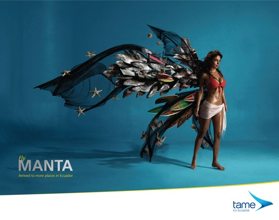 Combine That Concept With Air Travel And Ecuadorian Ad Agency La Facultad Came Up This Creative