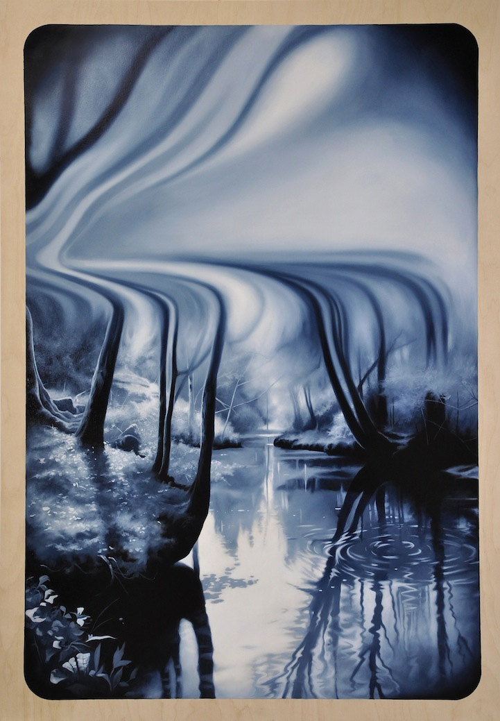 Monochromatic Nature Paintings By Michael Peck Capture