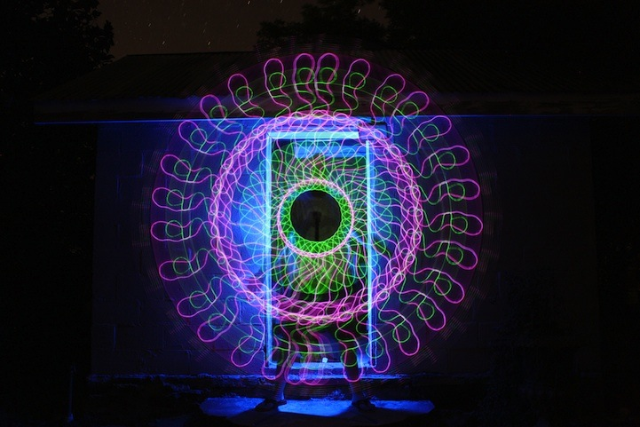 Incredible Light Painting Patterns