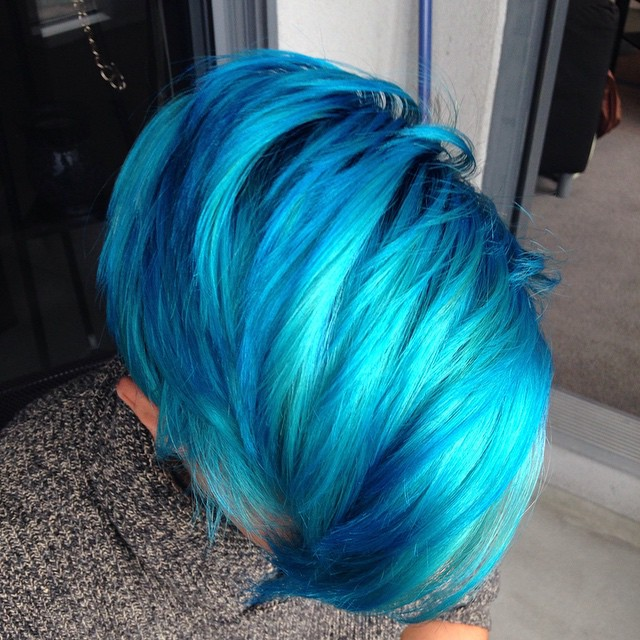 Men Are Dyeing Their Hair Bright Colors For The New