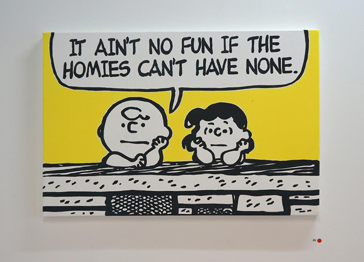Charlie Brown Hilariously Mashed Up With 90s Rap