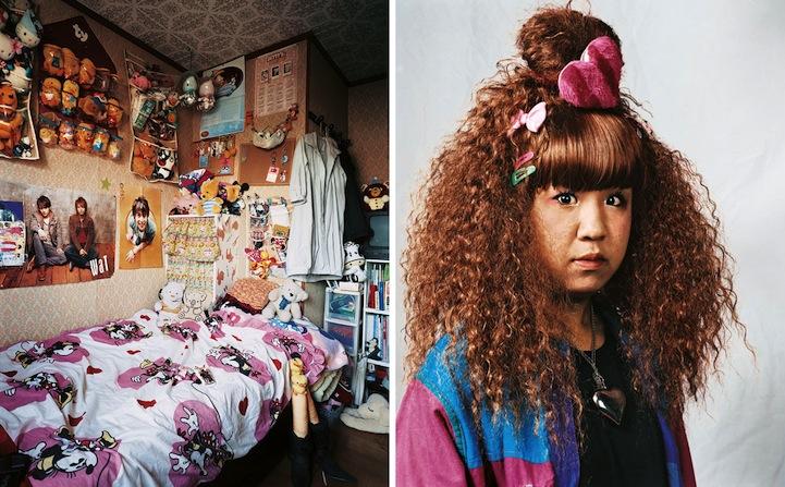 portraits of children around the world and where they sleep