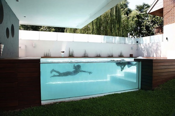 Awesome above ground outdoor pool 10 pics - Modern above ground pools ...