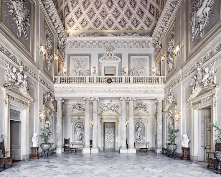 Italian Architecture With Intricate Interior