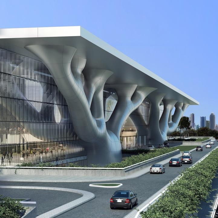 Lights Shop In Qatar: Modern Architecture: Qatar's Sidra Tree Convention Center