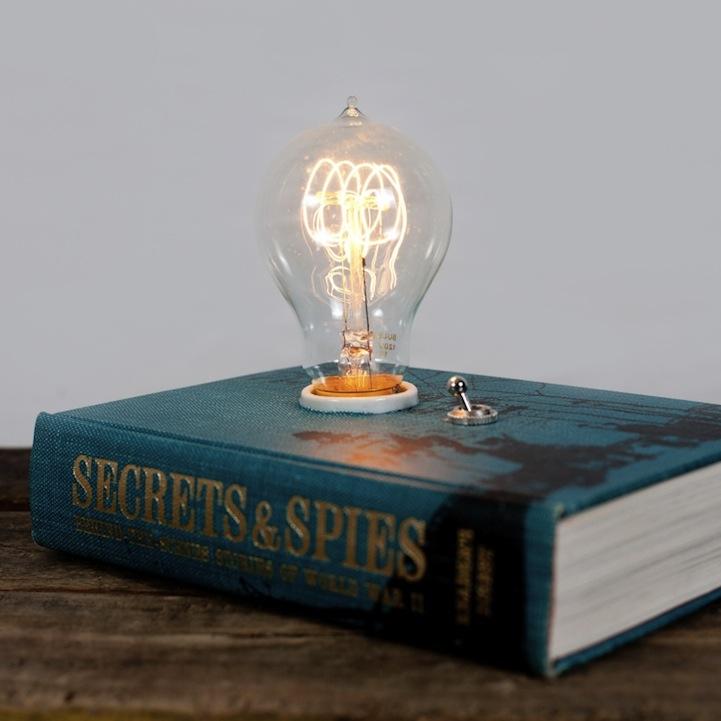 Spellbinding Hardback Book Lamp