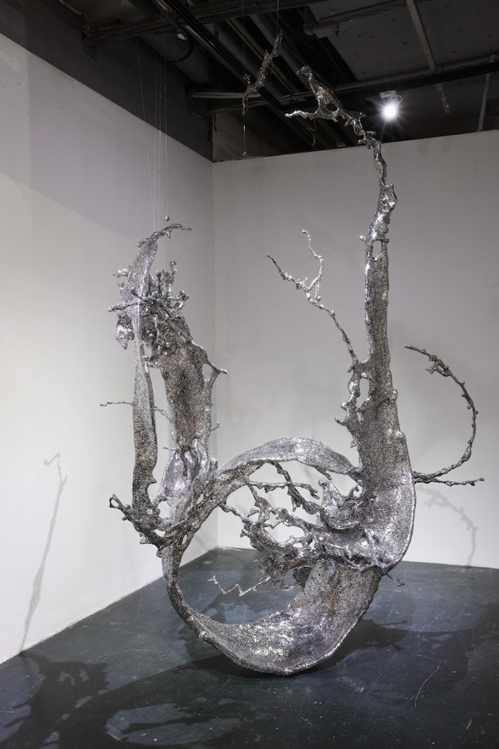 Steel Sculptures Made Of More Than 20 000 Chinese Characters